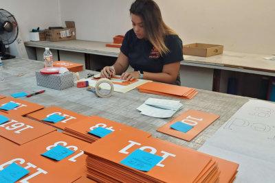sign fabrication process